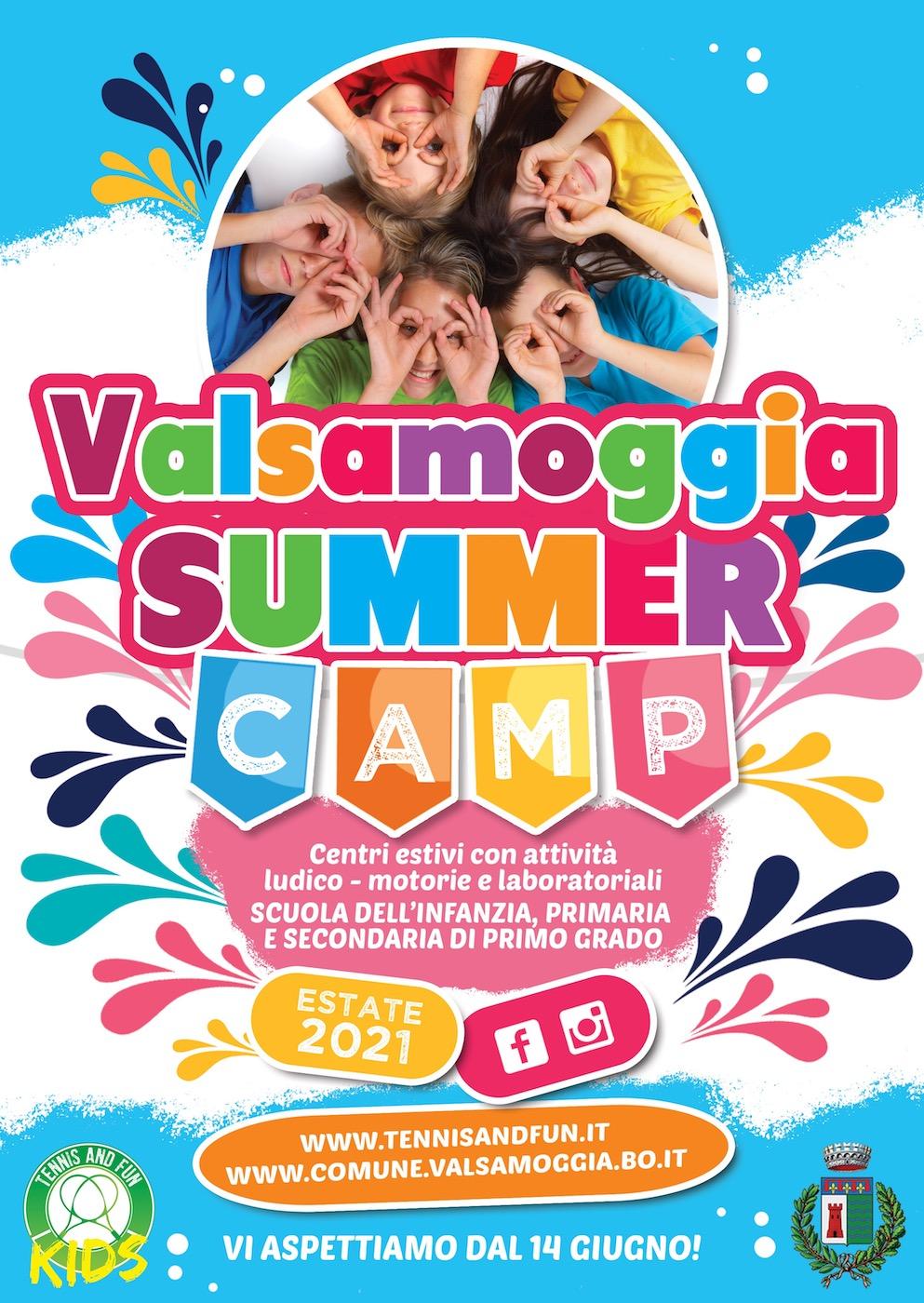 volantino summer camp generico 2021
